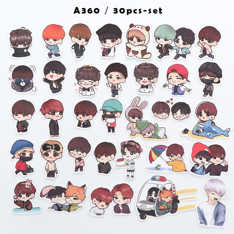 Exclusive BTS Stickers