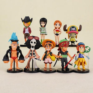 One Piece Figure Set of 9