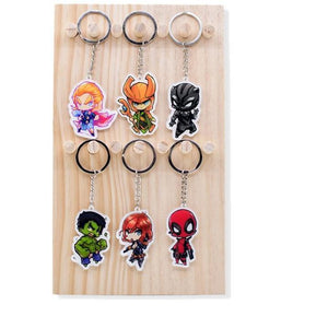 Avengers Infinity War Keychains (28 characters)