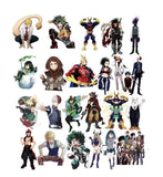 Keychain Sekai Exclusive My Hero Academia 50 Sticker Set