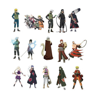 NEW Naruto Sticker pack of 51