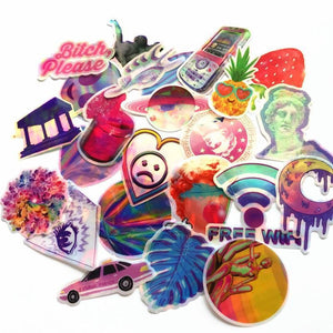 VAPORWAVE A E S T H E T I C Sticker pack of 70