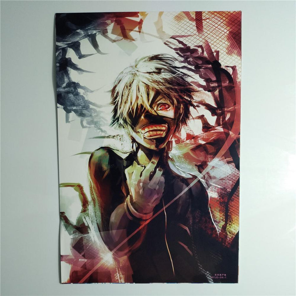 8*(42x29cm)NEW Tokyo Ghoul posters Anime posters Wall Stickers