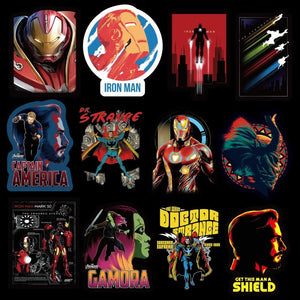 108 Piece Handmade Marvel Sticker Pack
