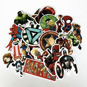 50 Comic Book Sticker Pack