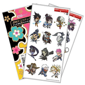 EXCLUSIVE Overwatch Character Sticker Sets
