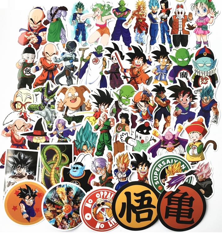 200 DB Sticker Set