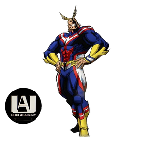 All Might Acrylic Figure
