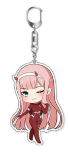 Red Pilot Suit Zero Two Chibi