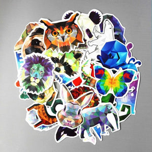 Aesthetic Geometric Animal Stickers