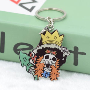 Rubber Soul King Brook Keychain