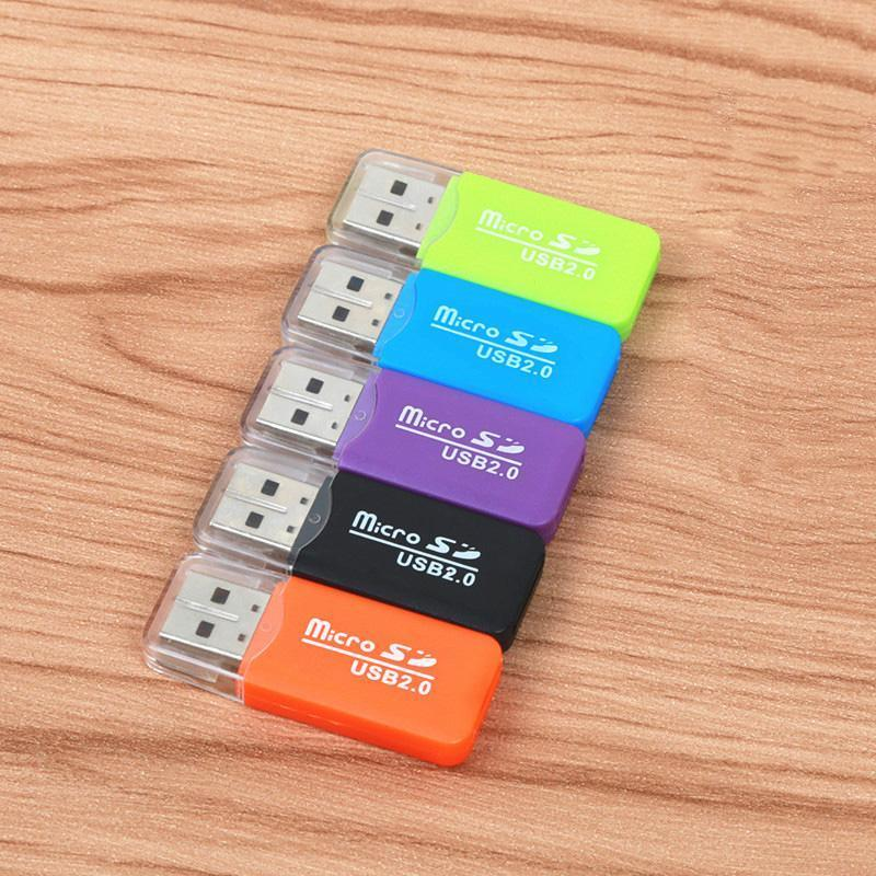 Mini USB Micro SD card reader