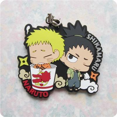 Rubber Boruto The Movie Keychains