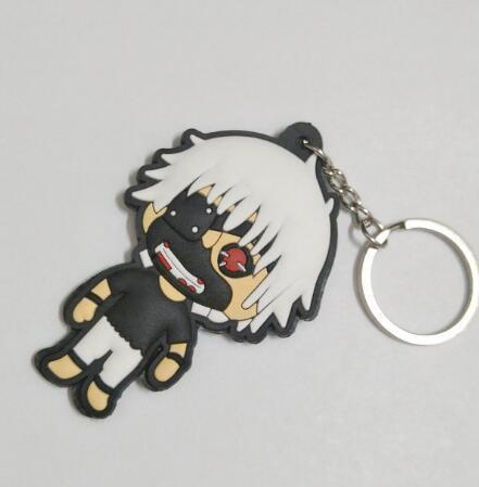 11 Rubber Tokyo Ghoul Keychains