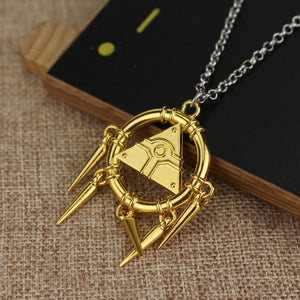 Yugioh Puzzle Eye Necklace/ Keychain