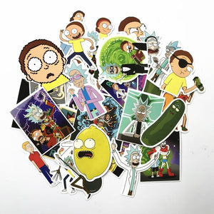 Rick & Morty 70 Sticker Pack