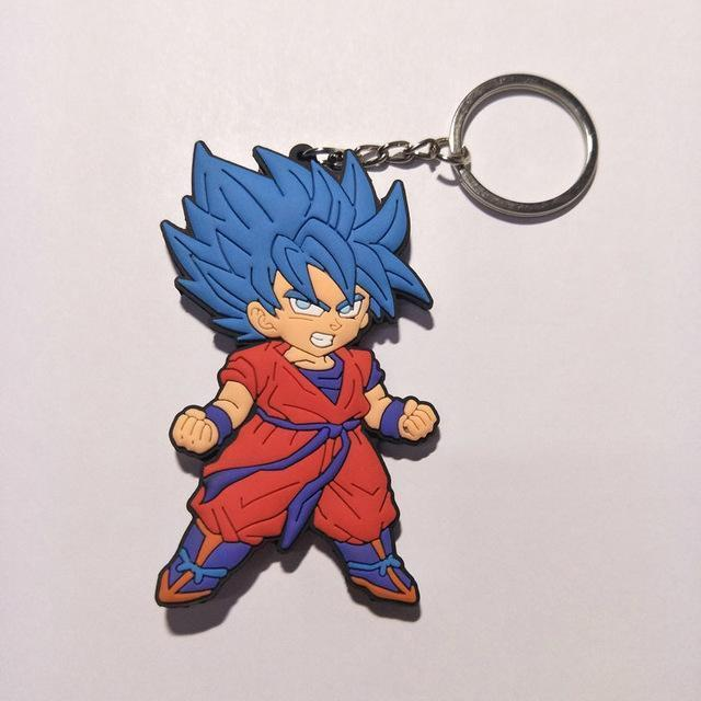 Rubber Dragon Ball Z Keychains