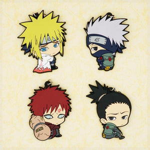 Rubber Naruto Keychains