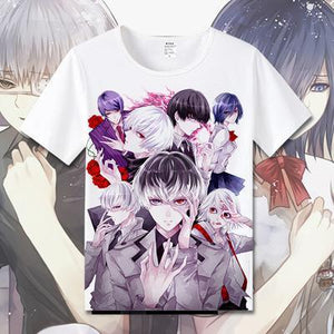 Exclusive Tokyo Ghoul T-Shirt Collection