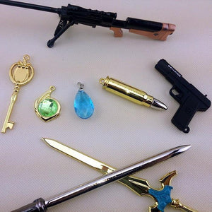 8 Pc SAO/GGO Keychain Set