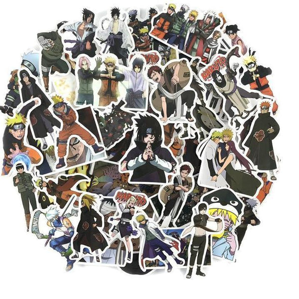 70 Naruto Sticker Bundle