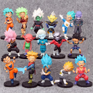 16 Pc DBZ figure set