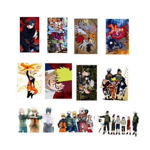 100 Naruto Sticker Pack