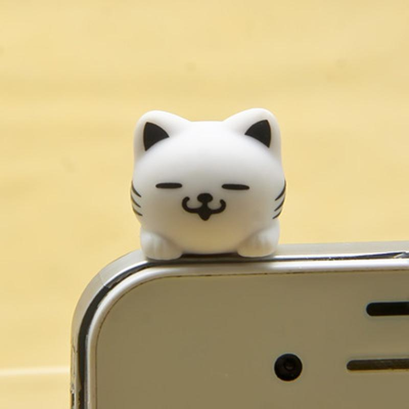 Kitty Earphone Jack charm