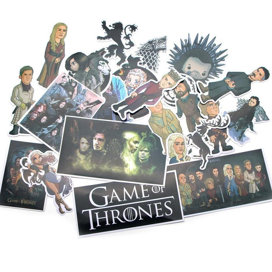 Exclusive Game of Thrones Stickers