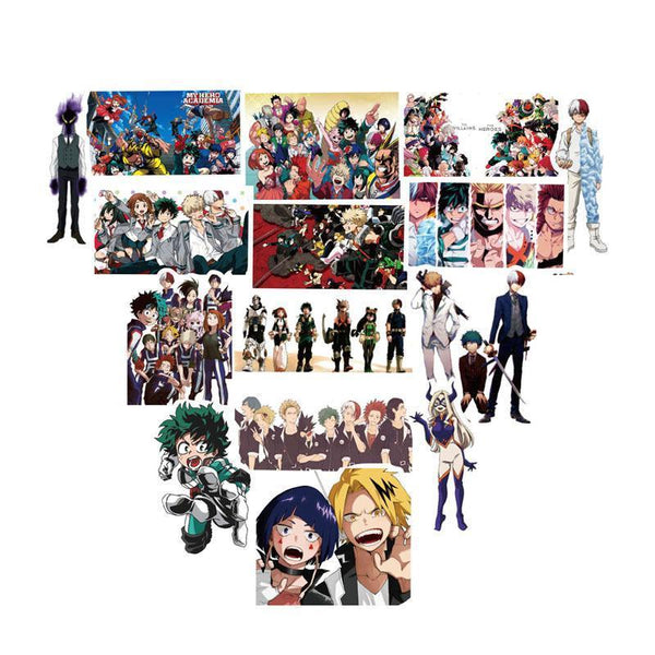 100 Piece My Hero Academia Sticker Pack