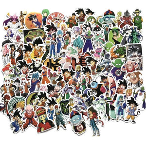 NEW 100 DBZ Sticker set
