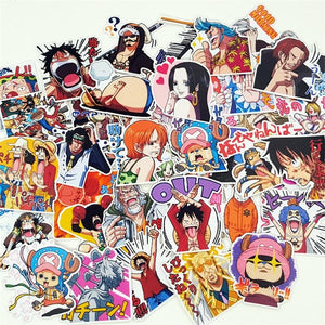 Exclusive 40 Piece ワンピース Sticker Set