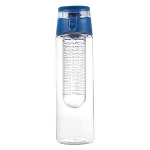 800ML Sport Bottle for Water Lemon Juice Flip Lid Fruit Infuser Infusing Bottle for Water Sport Health Water Bottle for Travel