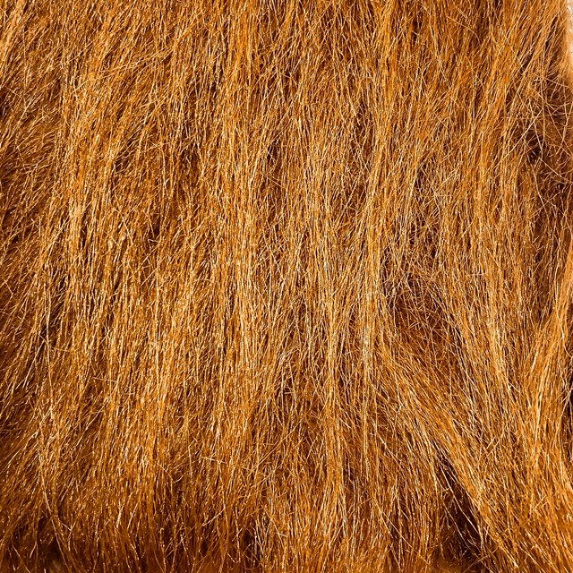 rust brown craft fur