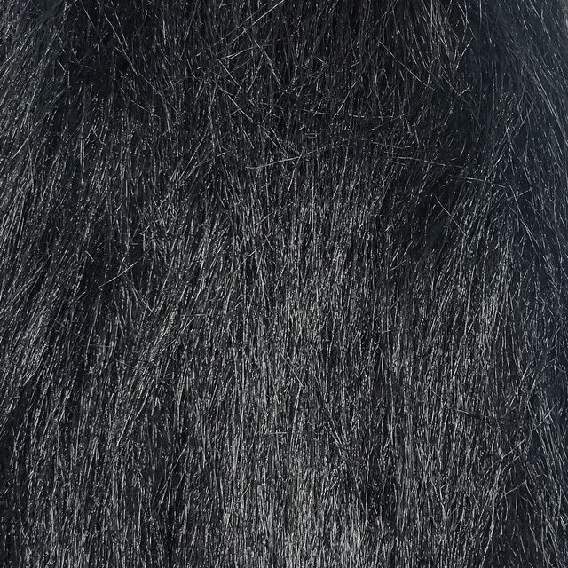 black craft fur