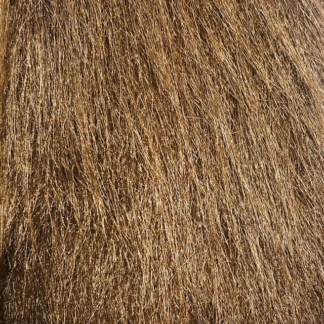 brown craft fur