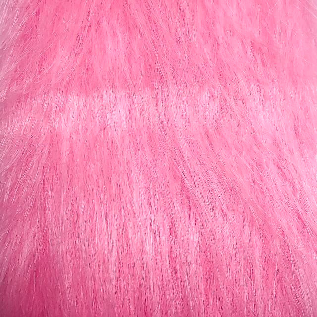 baby pink craft fur