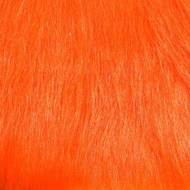 orange craft fur