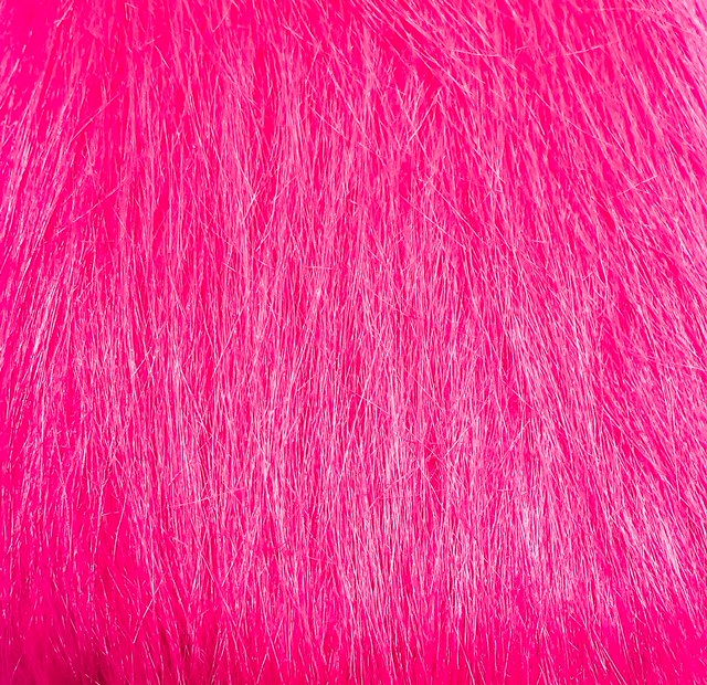 pink craft fur