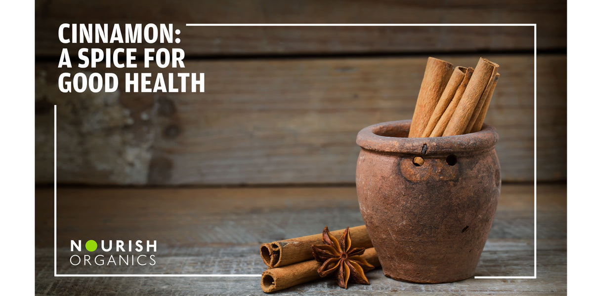 Cinnamon – A Spice for Good Health