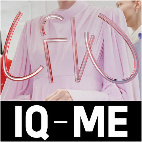 IQ-ME colouring books at London Fashion Week