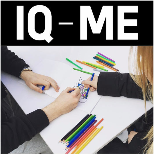 IQ-ME - what is IQ-ME, the new colouring book by artist and designer Johny Dar to enhance creativity, wellbeing and self-empowerment