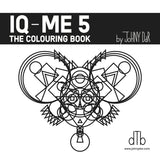 IQ-ME 5 by Johny Dar is a colouring book and self-empowerment tool for wellbeing, relaxation, creativity and flow