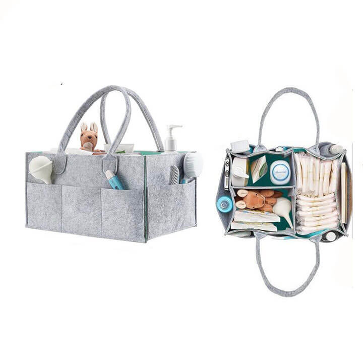 Convenient Foldable Diaper Caddy