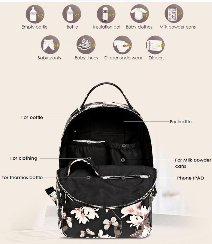 Mummy Diaper Bag MaBabyPro