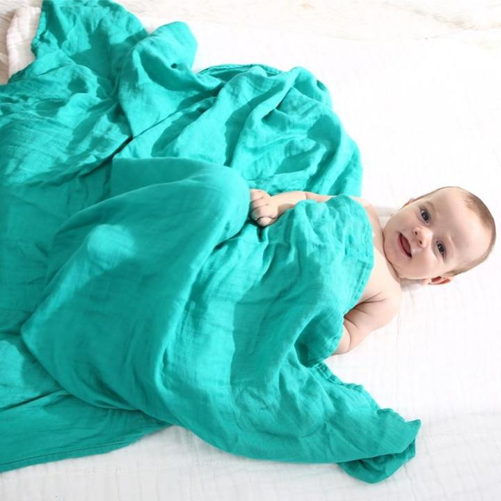 Peaceful Cotton Soft Baby Muslin Swaddle Blanket MaBabyPro
