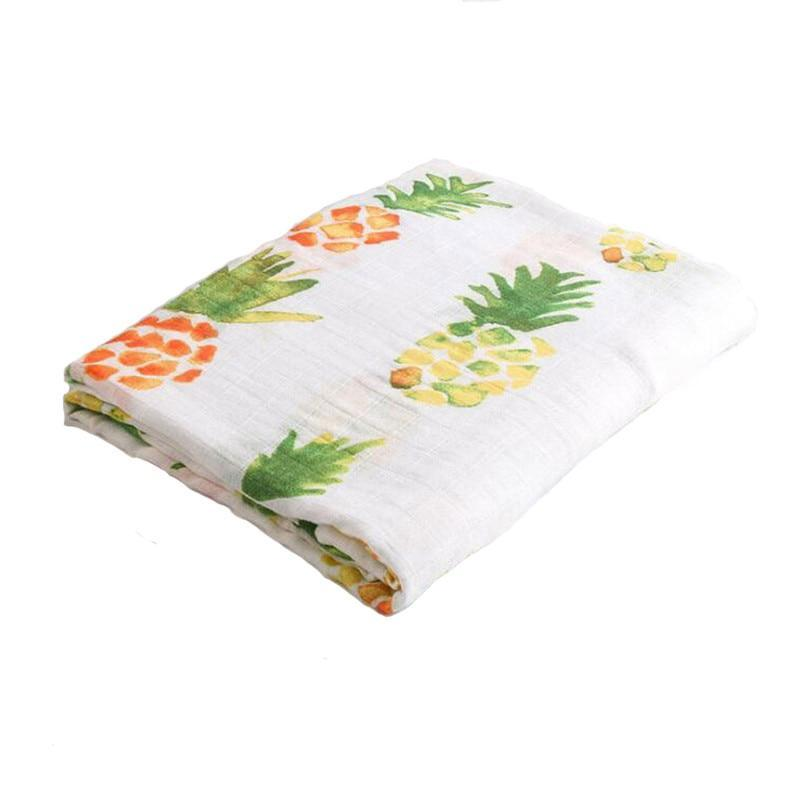 Pineapple Cotton  Baby Muslin Swaddle