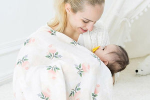 Sweet Cotton Soft Baby Muslin Swaddle Blanket