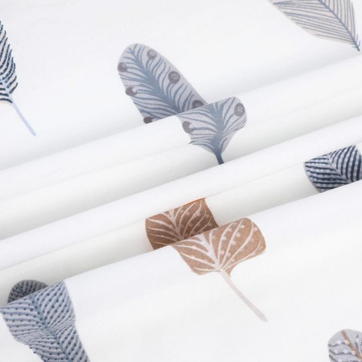 Feather Cactus Baby Crib Sheets MaBabyPro
