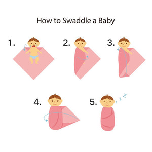 Peaceful Cotton  Baby Muslin Swaddle